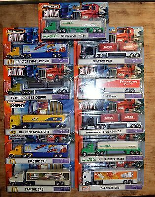 Job lot of 11 matchbox convoys -boxed and mint.