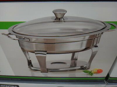 NEW Tramontina ProLine Oval Chafing Dish 3.9 Litres from Fairdinks