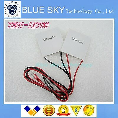 5PCS/LOT TEC1-12706 12706 TEC Thermoelectric Cooler Peltier 12V New of semico...
