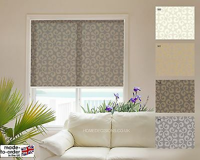 Roller Blinds - Quality Made To Measure - Metal Tube - METAL BRACKET FITTINGS