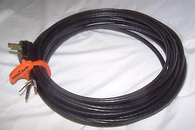 50' Roll 6-2G AWG NM-B Indoor Electrical Wire Romex Cable 6/2 w/ 50amp 250v Plug