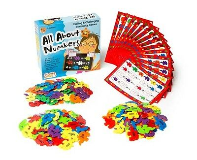 NEW!!  All About Numbers Maths Game Counting Sequencing Addition Subtraction
