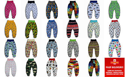 baby boy girl trousers crawlers leggings with feet size 0-3-6-9-12-18-24 months