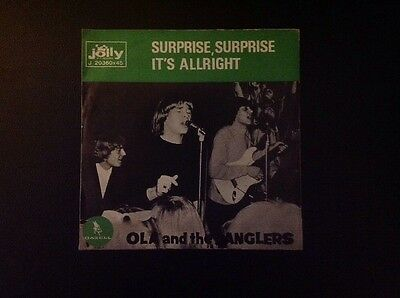 OLA AND JANGLERS. SURPRISE, SURPRISE - IT'S ALLRIGHT 45 Rpm JOLLY Italy 1966