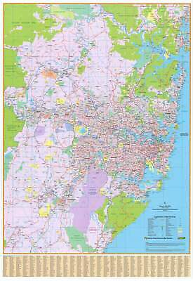 Sydney UBD 262 Map 690 x 1000mm Laminated Wall Map