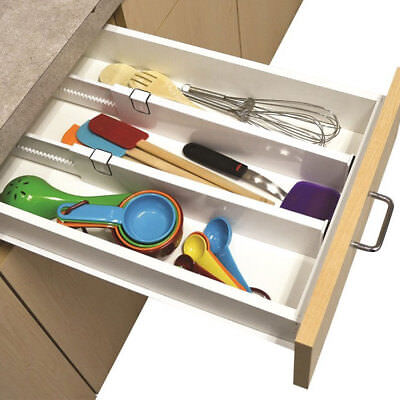Ideaworks Snap-fit Drawer Dividers