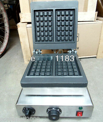Length 31CM Stainless Steel Electric Rectangle waffle Maker Machine Baker