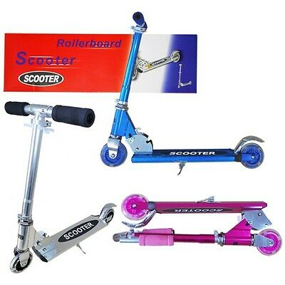 Folding Push Scooter for Girls or Boys