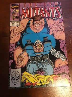 New Mutants #88 2nd Cable Appearance! The Blob & Mystique Appearance!