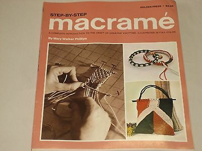 Step by Step Macrame by Mary Walker Phillips 1970 edition