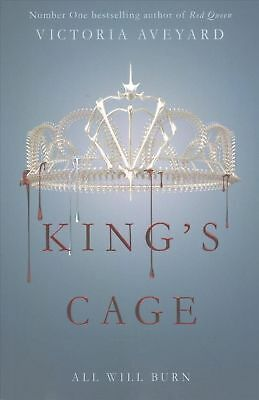 King's Cage by Victoria Aveyard Paperback Book