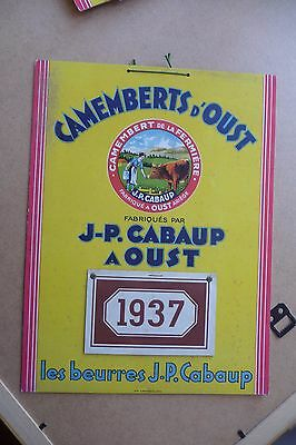 Camembert  Oust Ariege 1937