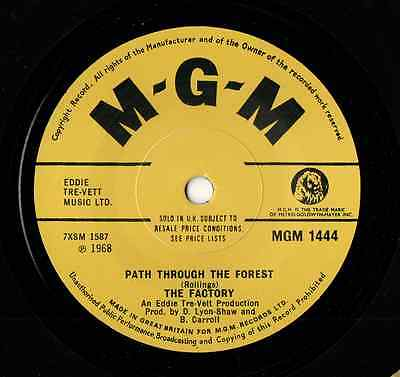 """THE FACTORY - """"Path Through The Forest"""" Psychbeat classic, hear both sides."""