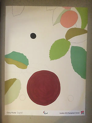 GARY HUME, official olympic poster, London, 2012