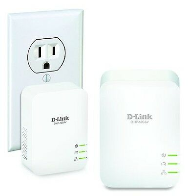 D-LINK PowerLine AV2 1000 Gigabit Network Kit incl. 2 Adapters (DHP-601AV)