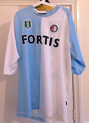 Vintage Feyenoord Rotterdam Dutch No.9 Football Shirt Kappa Vintage XL Casuals
