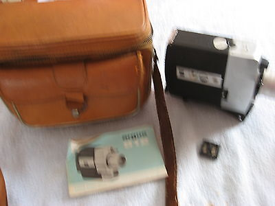 Vintage ARGUS Model 812 Super Eight Movie Camera, Zoom Reflex with Carry Case