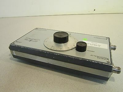 HP 393A Variable Attenuator