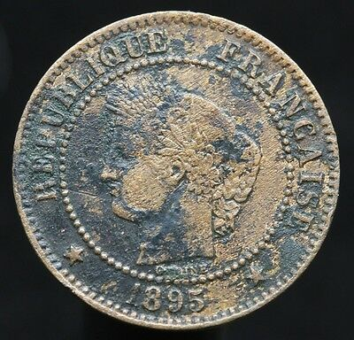 #d59 - France - 2 Centimes Napoleon Iii 1895 A