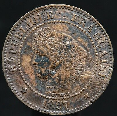 #d57 - France - 2 Centimes Napoleon Iii 1897 A