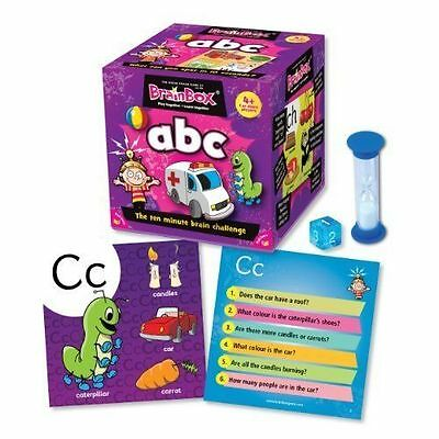Kids Toys Fun Play Games BrainBox Abc High Quality Of Card Board Learning Gifts