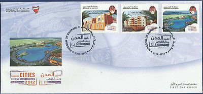 Bahrain 2012 Mnh Fdc First Day Cover World Habitat Day