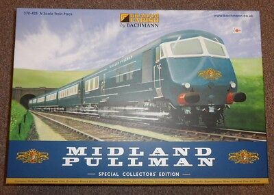 Bachmann 307-425 Midland Pullman Special Collectors Edition N Scale New