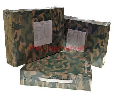 Military Russian Army Soldier Food Ration Camouflage Daily Mre Emergency Meal