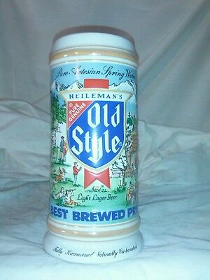 Old style limited edition 1986 beer stein (3674)