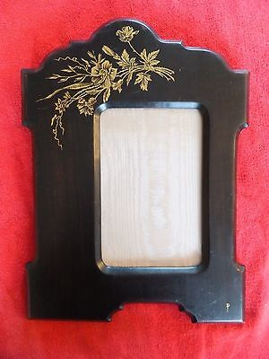 Mission Craftsman Arts and Crafts Era Hand Painted Signed Picture Frame