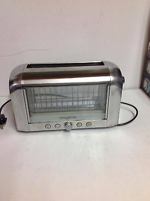 Magimix Vision 2 Slice Toaster  - Stainless Steel