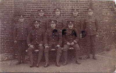 Soldier group Royal Artillery Garrison Military Police Weymouth 1913