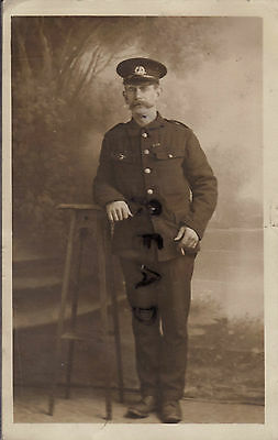 WW1 soldier Norfolk Regiment Kitchener's Army Colchester Boer War Veteran