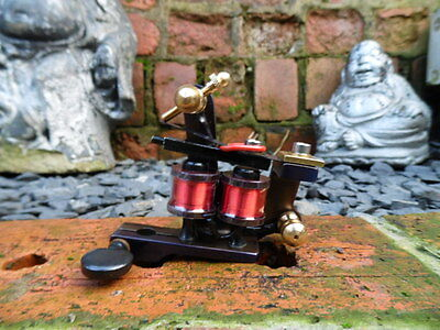 Top Quality Hand Built Old School Iron Frame Tattoo Machines Stilted Shader Uk