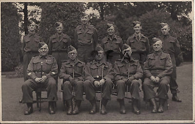WW2 Cheshire Regiment Home Guard Officers & Warrant Officers