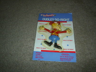 VTG JESCO Dudley Do-Right Bendable Figure NIP Toy 1985