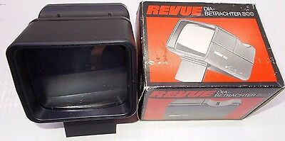 Vintage color slide viewer  photo photography Revue viewer in box w manual
