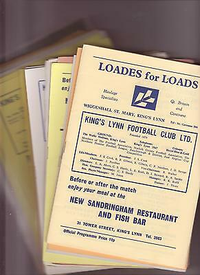 Kings Lynn V Gravesend 1959/60