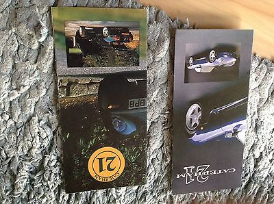 Caterham 21 Brochures