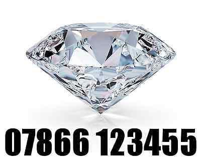 Gold Easy Vip Mobile Phone Number Business Diamond Sim Card ( 07866 123455 )