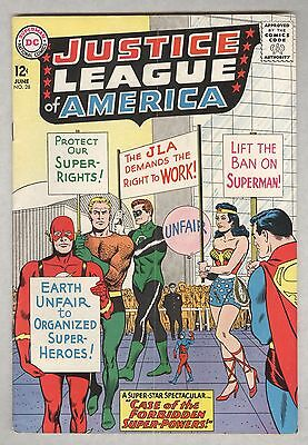 Justice League of America #28 June 1964 VG