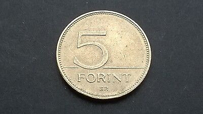 Hungary 5 forint 2005 coin