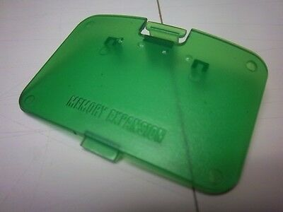 NEW Jumper/Expansion Pak Pack Memory Cover Nintendo 64 jungle green / C2000