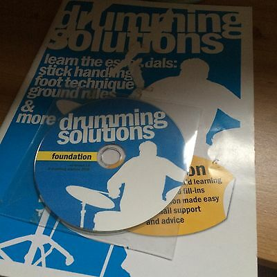 Drumming Solutions Foundation Course Booklet And CD