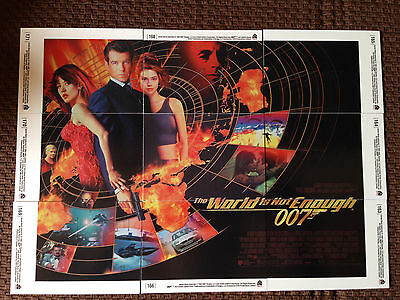 James Bond 007 -The World Is Not Enough - 9 Card Set - 40th Anniversity  2007