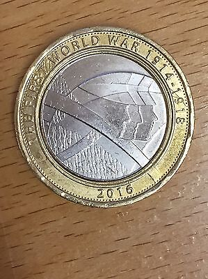 2016, The Army 2 Pound Coin