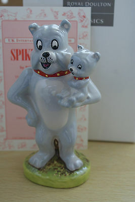 SPIKE N TYKE from TOM & JERRY LIMITED EDITION ROYAL DOULTON MIB
