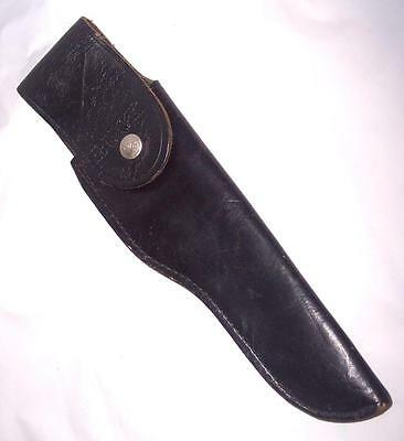 Vintage Sheath for Buck 119 Hunting Knife, Early Flap Over Style