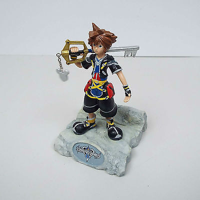 Kingdom Hearts Sora Resin Paperweight Statue with Key Blade Figure (G600)