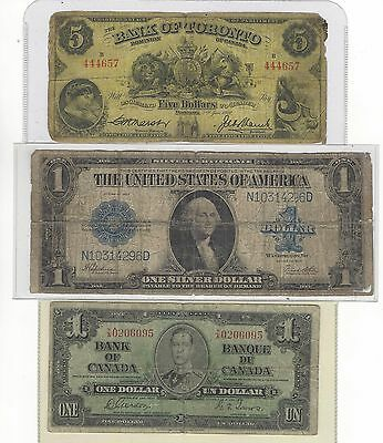 3 Antique Notes